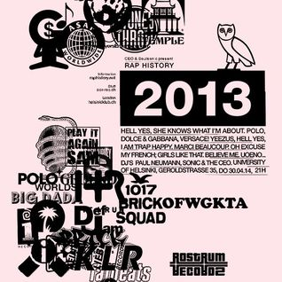 Rap History - 2013