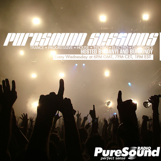 Danyi & Burgundy - PureSound Sessions 231 Eddie Sender Guest Mix 10-08-2011