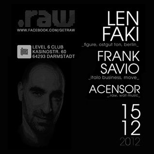 Frank Savio @ 1 Year Raw | Level 6 [15.12.2012]