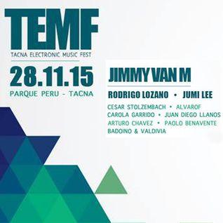 Jimmy Van M - Live at TEMF Parque, Tacna, Peru (28-11-2015)