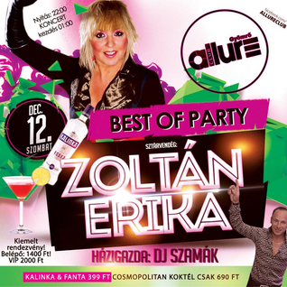 Club Allure Live - 2015.12.12. - Best Of Party - DJ Szamák