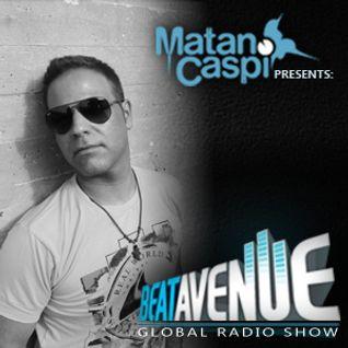 MATAN CASPI - BEAT AVENUE RADIO SHOW #027 - December 2013 (Guest Mix - YUJI ONO)