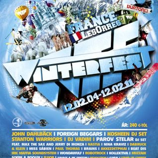 Savage + MC Fantom LIVE @ Winterfest Les Orres France 20120206