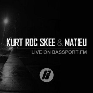 KurtRocSkee b2b Matieu ft. Guest Mix by Mellowdram / Live on Bassport FM (21.09.2016)