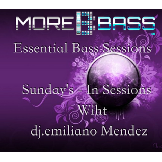 MoreBassRadio & Emiliano Méndez- Essential Bass Sessions - Radio Show ( 11-09-2015 )