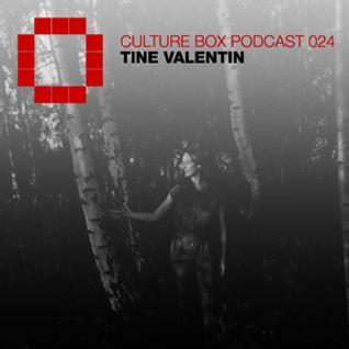 Culture Box Podcast 024 - Tine Valentin