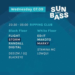 DJ Randall w/MC GQ @ DJ Storm presents 07/09/16 @ Ripping Club - SUN&BASS 2016