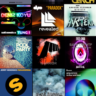 June 2012 Electro Mix Radio Show #2 (Jeremy Kesseler)