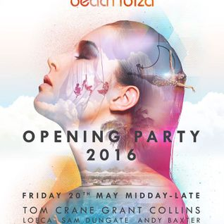 OPENING OCEAN BEACH IBIZA 2016 - 20th MAY 2016