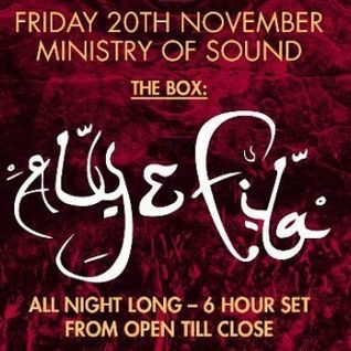 Aly & Fila – Live @ Ministry of Sound (London 6 hour set) – 20-NOV-2015