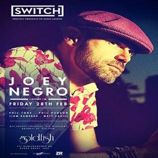 Joey Negro @ Goldfish, Sydney - 28.02.2014