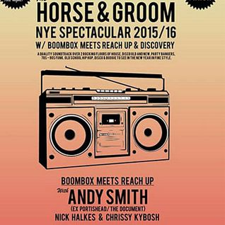 DJ Andy Smith Horse & Groom Boombox NYE 2016 Promo mix