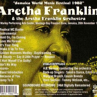 Aretha Franklin-  Jamaica World Music Festival -11-26-1982 Soundboard Master