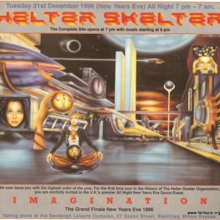 Grooverider Helter Skelter 'Imagination' NYE 31st Dec 1996