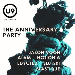 Alam @ Under9 The Anniversary Party - 28Feb2015