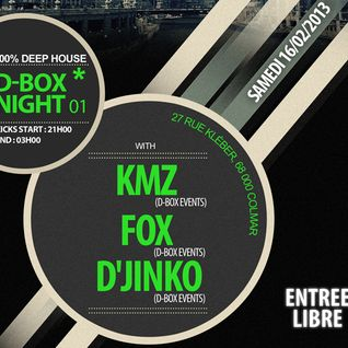 KmZ // Dj Set @ D-box Night 1 (Cut) // Absynth Bar L'Entracte // 16.02.2013