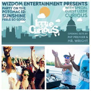 Lizzie Curious live @ Party on the Potomac, Washington DC (Wizdom Entertainment) 28/05/16