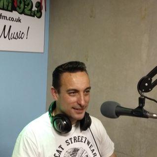 DJ Steve Stack Of Wax ~ ROCKIN' RADIO with my guest DJ Little Carl ~ 17 August 16