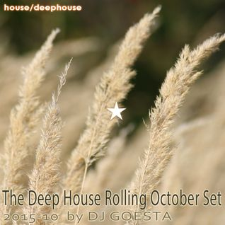 DJ Gösta - The Deep House Rolling October Set 2015