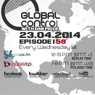 Dan Price - Global Control Episode 158 (23.04.14)
