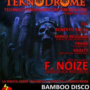 F. Noize live @ Teknodrome 15 - 09 - 2012