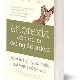 Eva Musby, mother and author of a book on anorexia