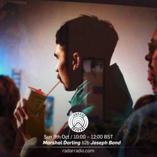 Marshal Darling b2b Joseph Bond - 9th October 2016