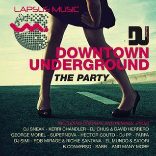 DU DOWNTOWN UNDERGROUND - THE PARTY - (Halloween Mix)