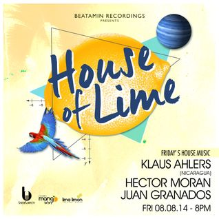 Hector Moran LIVE @ House of Lime (ESA) 08Ago2014
