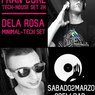 De la Rosa Closing Set @ Crew Bar, Port Adriano 03.03.2013