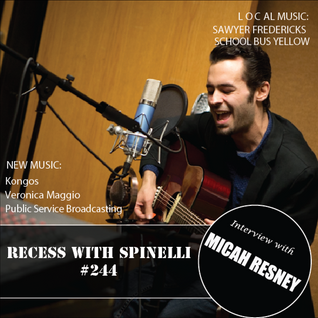 RECESS with SPINELLI #244, Micah Resney