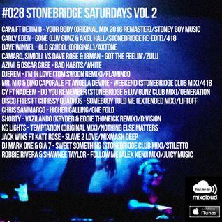 #028 StoneBridge Saturdays Vol 2