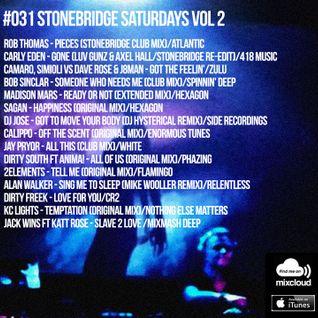 #031 StoneBridge Saturdays Vol 2