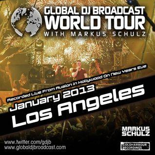 Global DJ Broadcast Jan 10 2013 - World Tour: Los Angeles