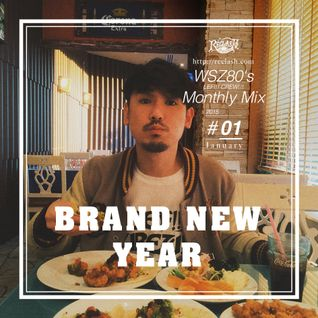 "WSZ80 (LEF!!! CREW!!!) / Monthly Mix 2015 #01 -January- ""BRAND NEW YEAR"""