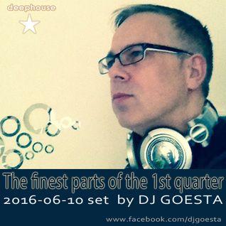 DJ Gösta - The finest parts of the 1st quarter (DeepHouse Set 2016-06)