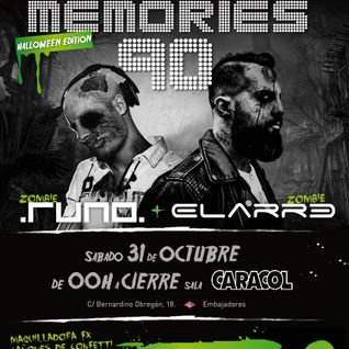 Dance Memories 90 v.8 - Halloween Edition @ Sala Caracol (31.10.2015) Parte 2 de 2
