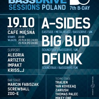 A-Sides LIVE @ DrumObsession 7th B-Day (Bassdrive Sessions Poland)