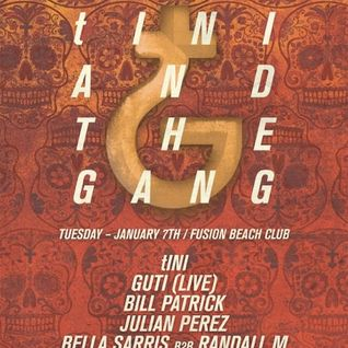 Julian Perez @ The BPM Festival 2014 - tINI and The Gang (08-01-14)