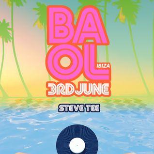 Live in Ibiza :: June 2016 :: Steve Tee