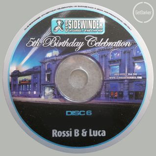 Rossi B & Luca, B-Live & Champagne Bubblee - Sidewinder 5th Birthday - March 2004