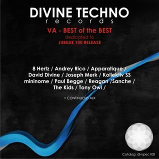 David Divine - BEST of the BEST Divine Techno records (Continuous Mix)