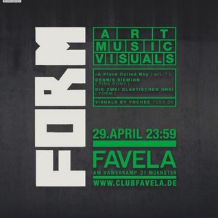 Captain Cosmotic pres. Nefelibata Jr. DJ Set at Form//Club Favela//Münster