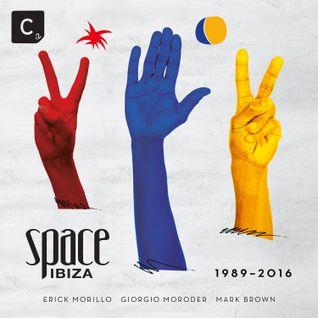 Erick Morillo's mini-mix for 'Space Ibiza 1989-2016'