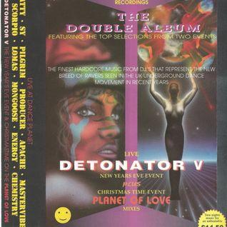 Pilgrim - Dance Planet, Planet Of Love, Christmas 1994.