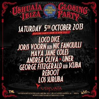 REBOOT - USHUAIA CLOSING PARTY - 05 / 10 / 2013