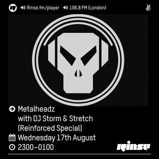 Rinse FM Podcast - Metalheadz w/ DJ Storm + Stretch (Reinforced Special) - 17th August 2016