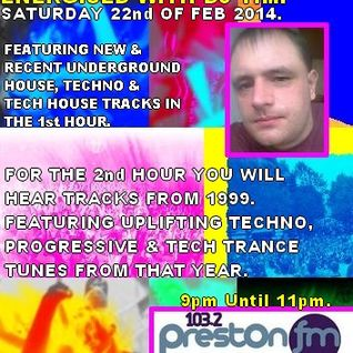 Energised With DJ Tim - 22/2/14/ - 103.2 Preston fm