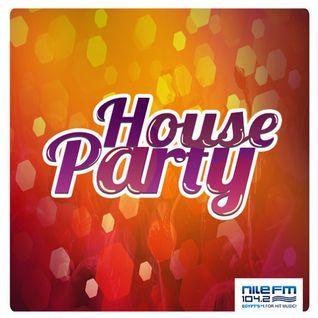 House Party ( Hour 2 ) - DJ Carlos - 08/05/2015 on NileFM