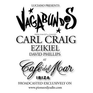 Ezikiel - Live @ Cadenza Vagabundos & Detroit Love Pre Party @ Cafe Del Mar, Ibiza